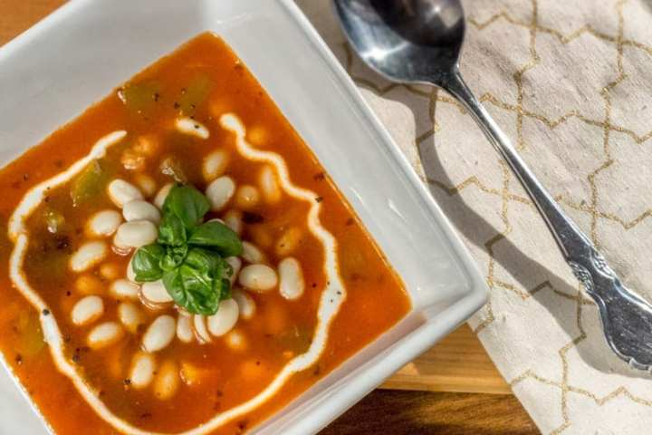 At the Immigrant's Table: Pasulj Serbian white bean soup