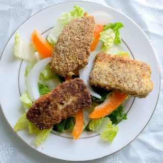 Circassian fried cheese