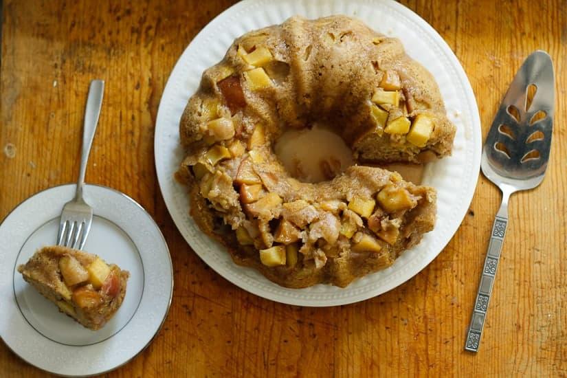 apple olive oil cake 13