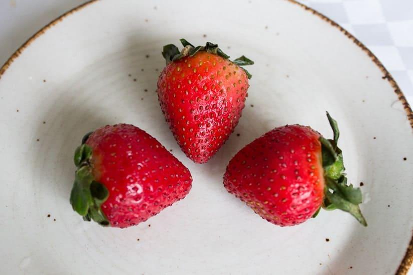 Russian strawberry compote 1
