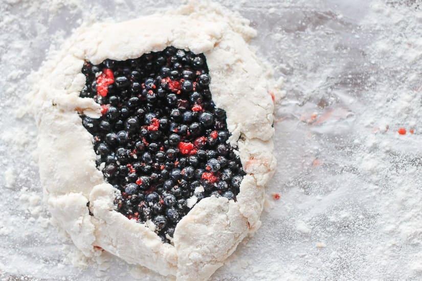 wild berry galette 6