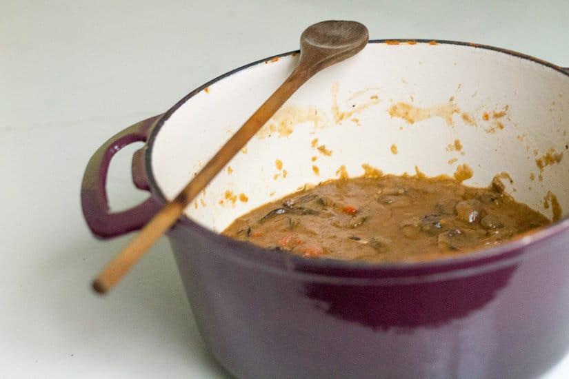 Hearty tomato mushroom stew 5