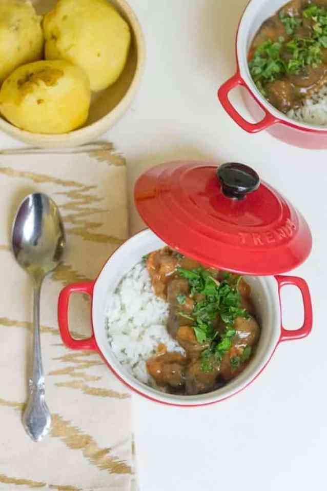 Hearty tomato mushroom stew 9