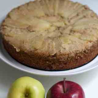 Gluten-free honey apple cake