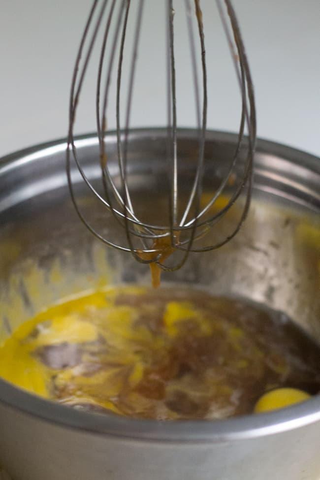 Gluten-free honey apple cake