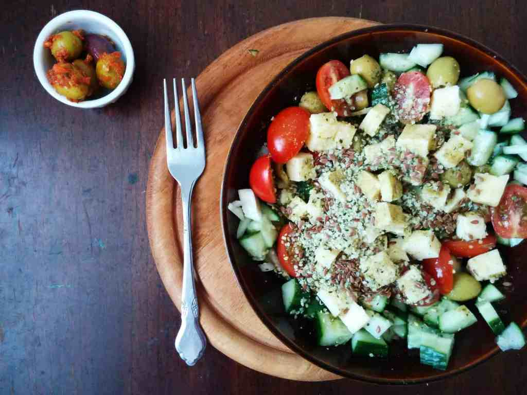 Long weekend chopped salad