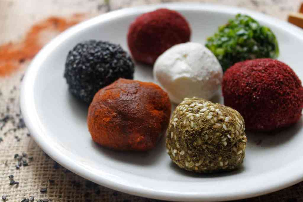 Middle Eastern Small Plates Recipes Preview: Labaneh balls