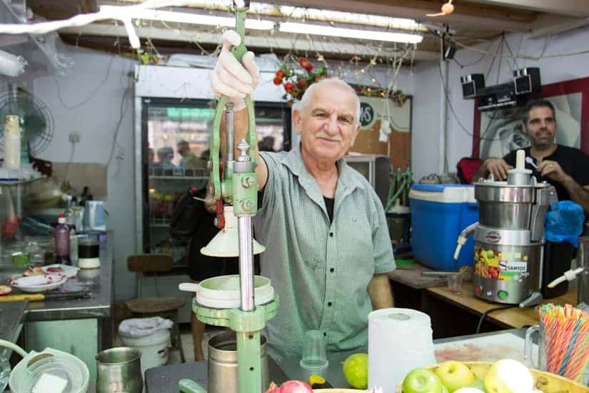 Join for a culinary tour of one of Israel's lesser known, but no less impressive foodie destinations: Tel Aviv's Levinsky market.