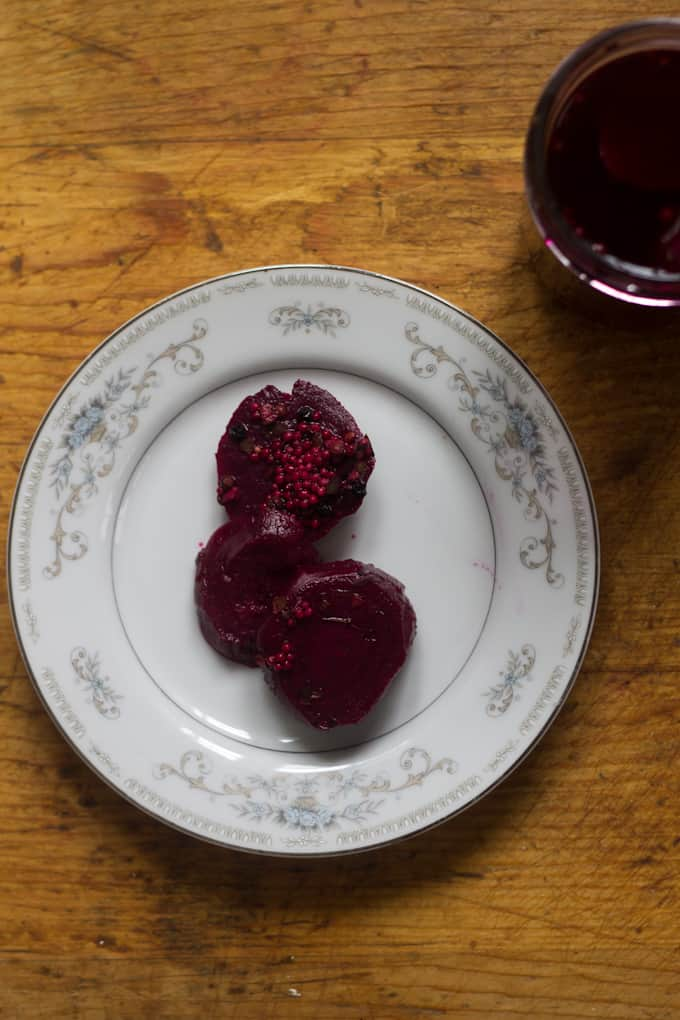 Beatrice's Icelandic pickled beets