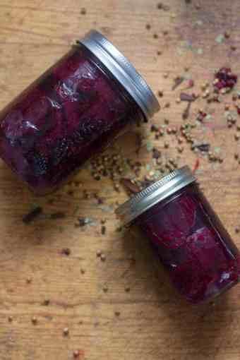 Beatrice's Icelandic pickled beets