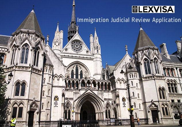 Immigration Judicial Review Application