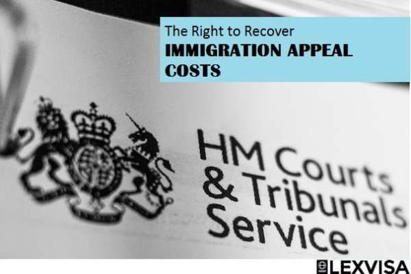 The Right to Recover Immigration Appeal Costs