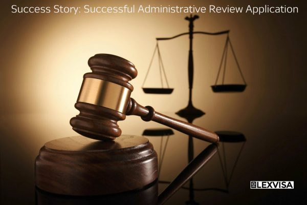 Administrative Review Application
