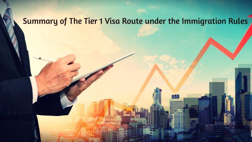 The Tier 1 Visa