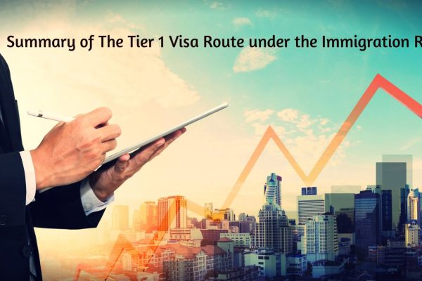 Summary of The Tier 1 Visa Route under the Immigration Rules