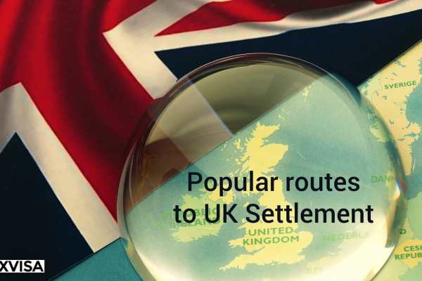 Popular routes to Settlement in the United Kingdom under the Immigration Rules