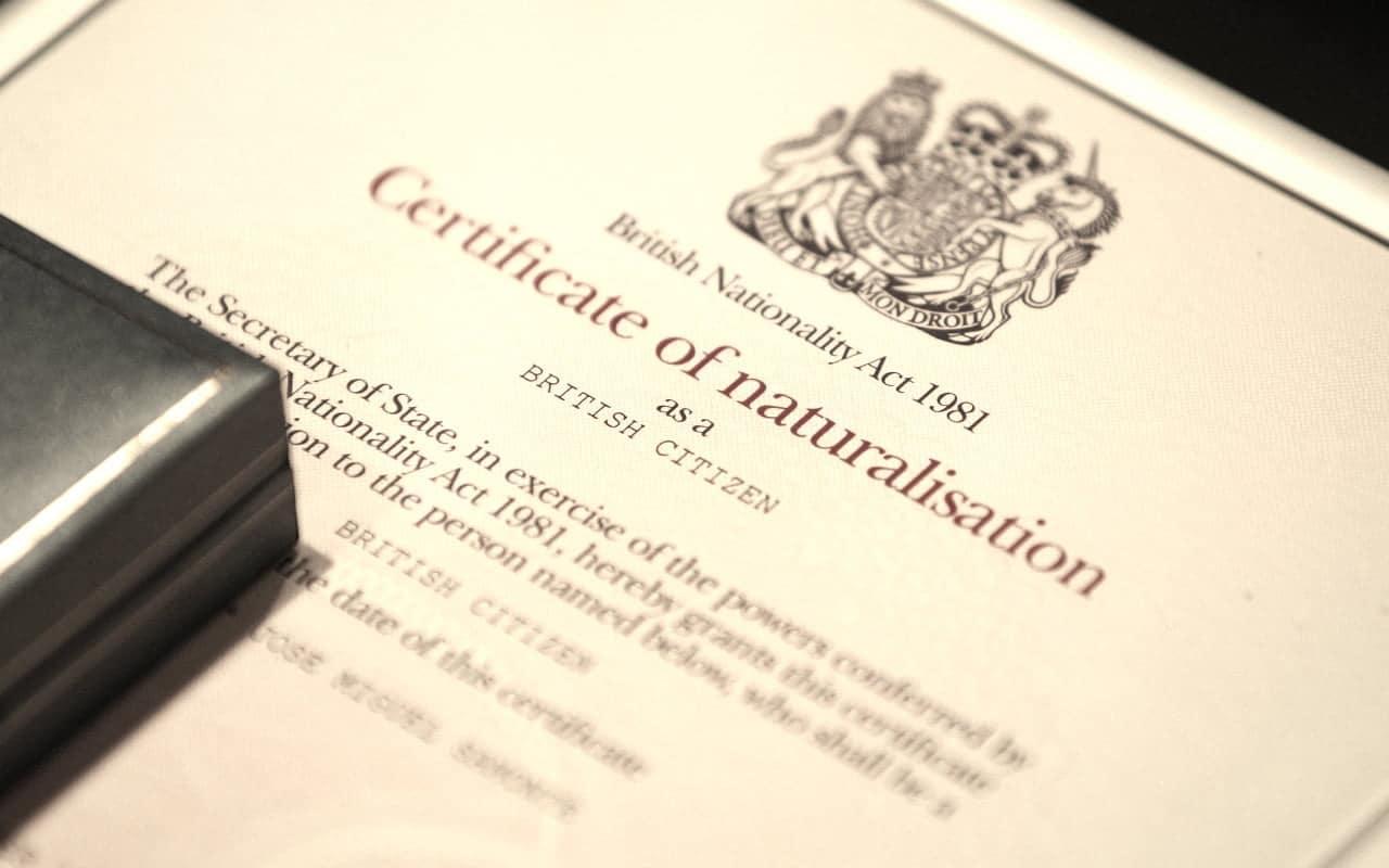 British citizenship by way of naturalisation | bna 1981 | lexvisa.