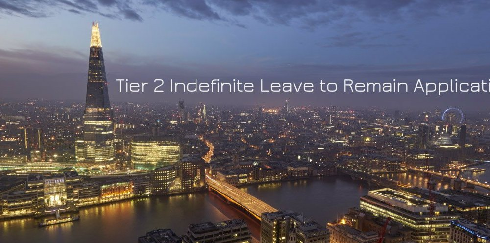 Tier 2 Indefinite Leave to Remain