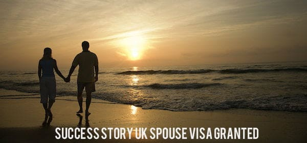 Success Story- Spouse Visa Granted
