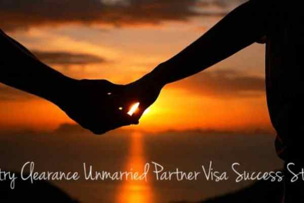 Entry Clearance Unmarried Partner Visa Success Story