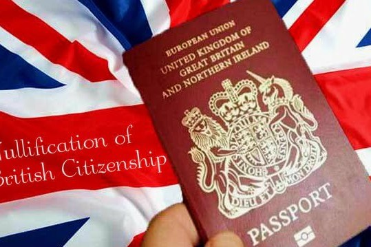 Rise in the Unlawful Nullification of British Citizenship over last Decade