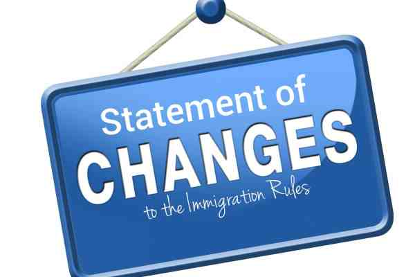 Statement of Changes to the Immigration Rules: 11 October 2018 Overview