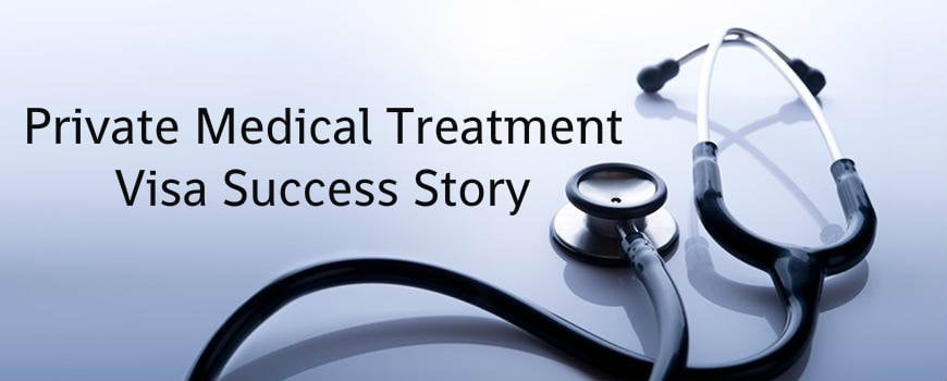 Private Medical Treatment Visa Success Story | LEXVISA