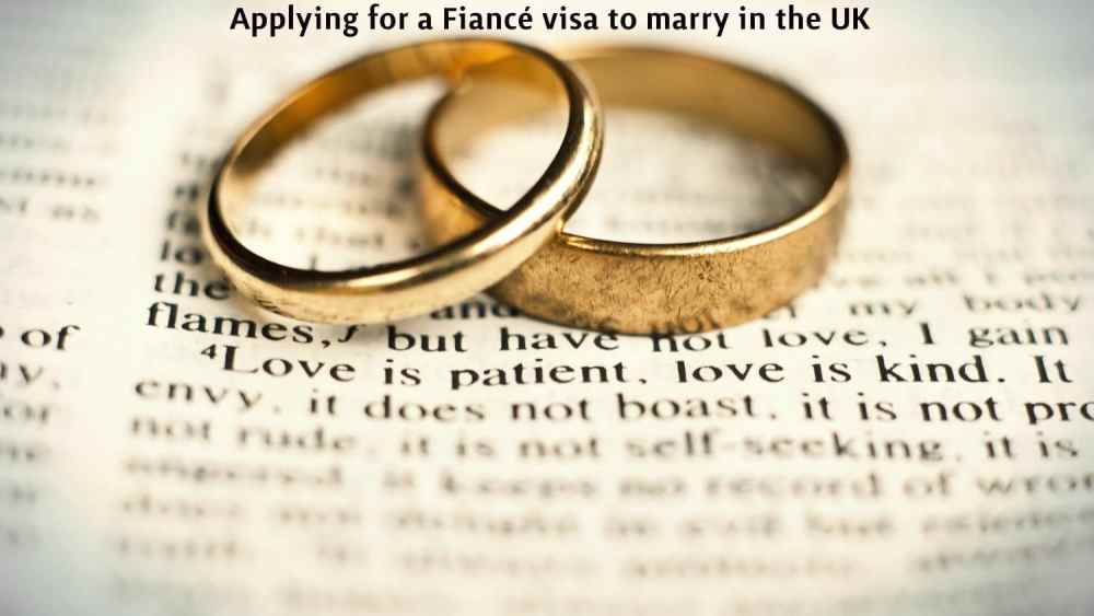Fiancé visa to marry in the UK Best Immigration lawyers London