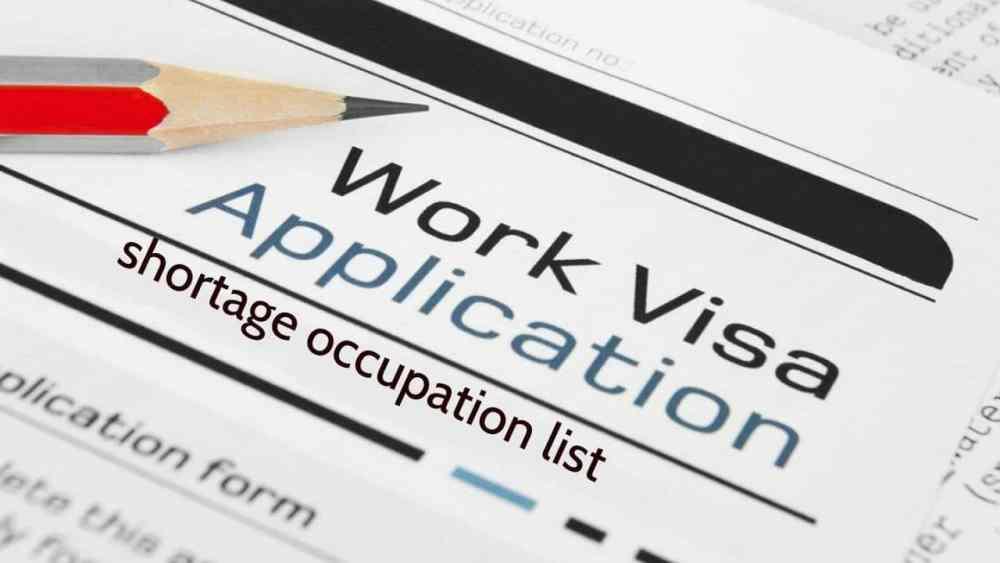 Shortage of Occupation list