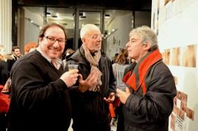 Jean-Marie Guézala, Yves Morin, Claude Colom, responsables du CRL10