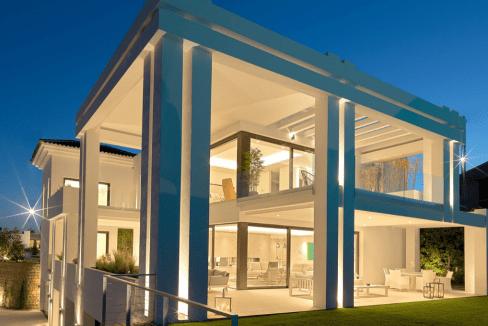 Villa de luxe à vendre à Los Flamingos-6