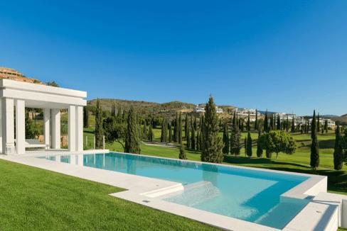 Villa de luxe à vendre à Los Flamingos-7