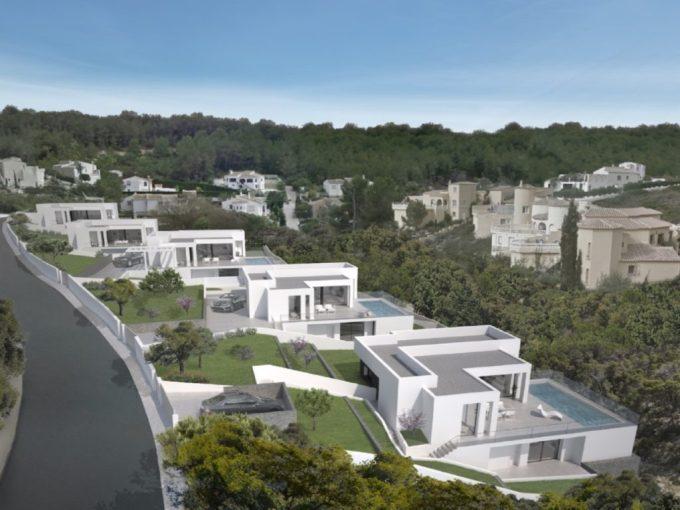 Les villas sont situées au coeur de la station résidentielle Cumbre del Sol