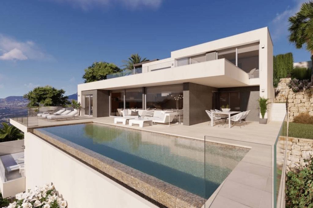 Villa de luxe de 3 chambres en vente Benitachell, Espagne € EUR Espagne-3