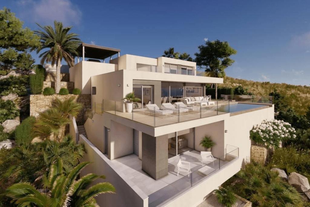 Villa de luxe de 3 chambres en vente Benitachell, Espagne € EUR Espagne-6