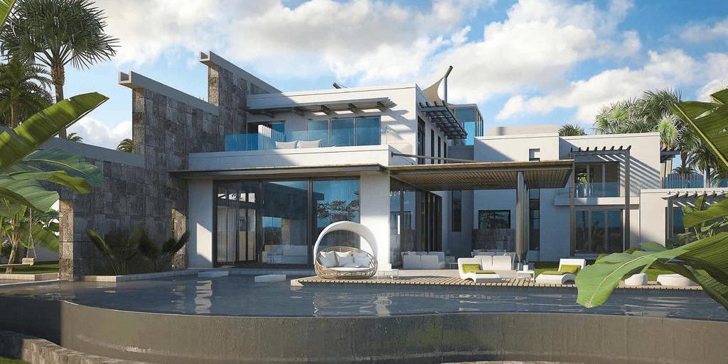 Villa de luxe avec parcours de golf et spa-2