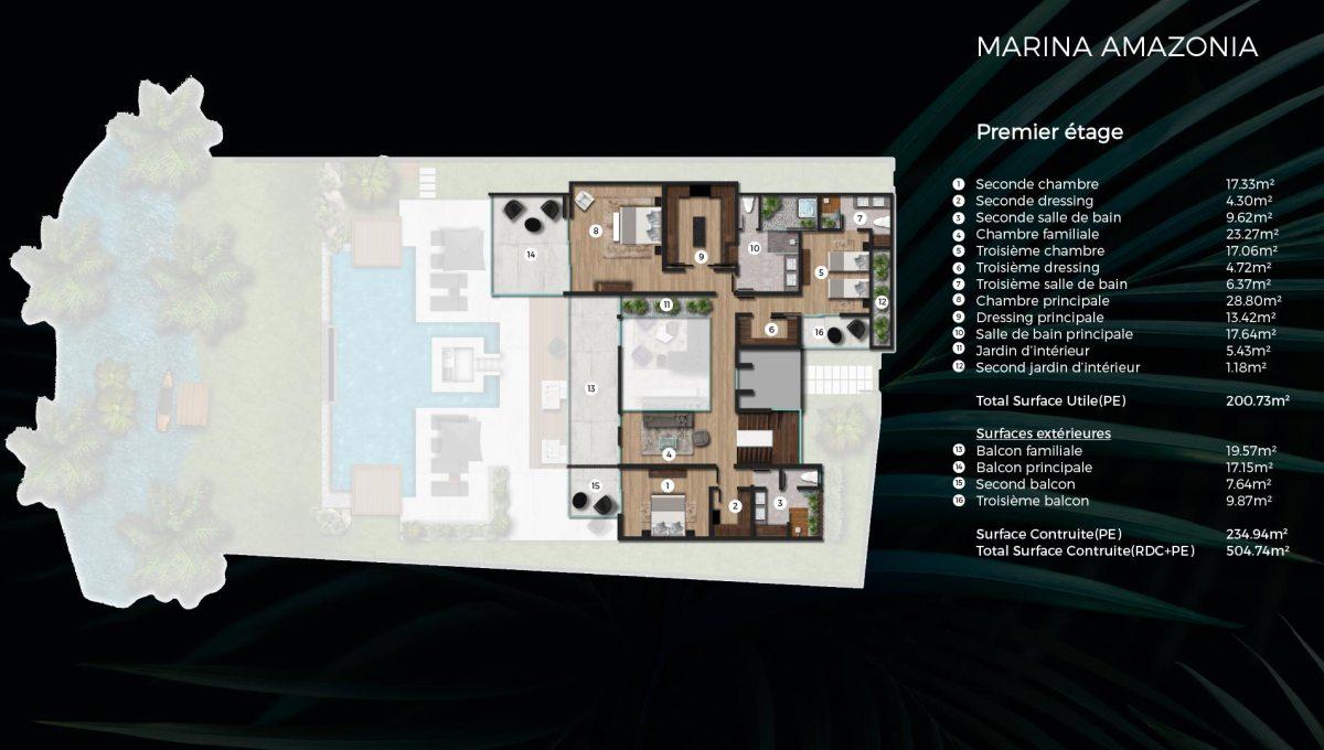 Les Villas Marina toutes en luxe et élégance