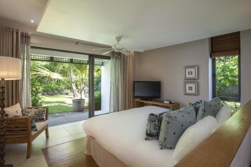 Architecture contemporaine villa au sein d'Anahita The Resort Île Maurice