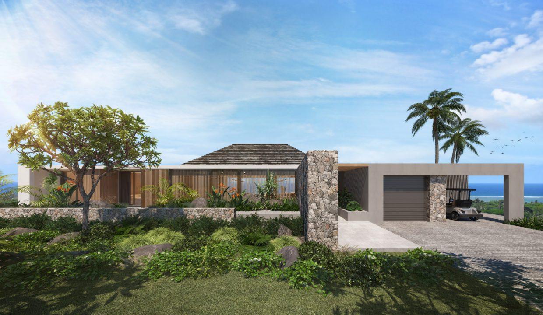 Exterior backside - Villa Bliss