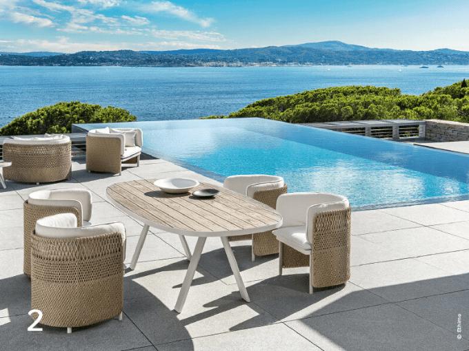 Outdoor un art de vivre où le mobilier invite au farniente