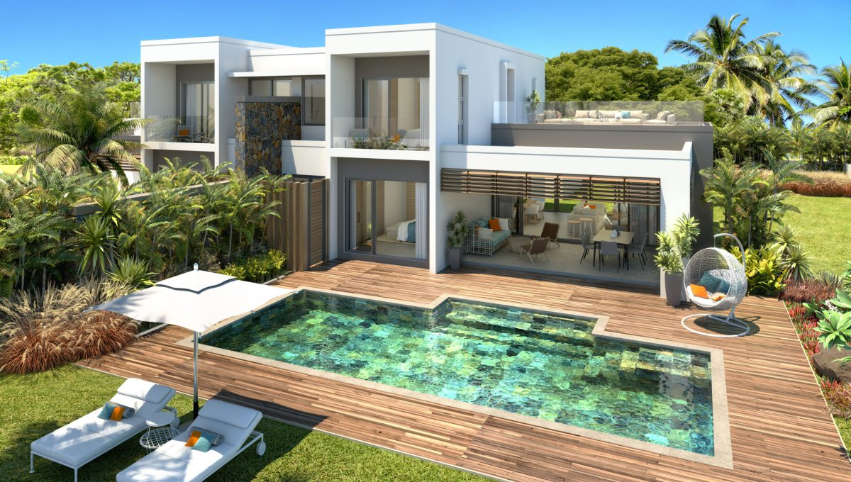 Villas contemporaines jumelées
