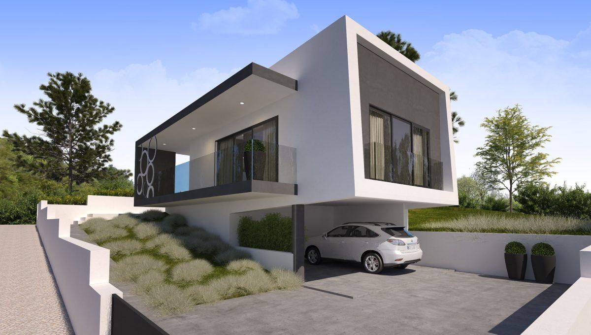 Villa moderne à vendre au Portugal