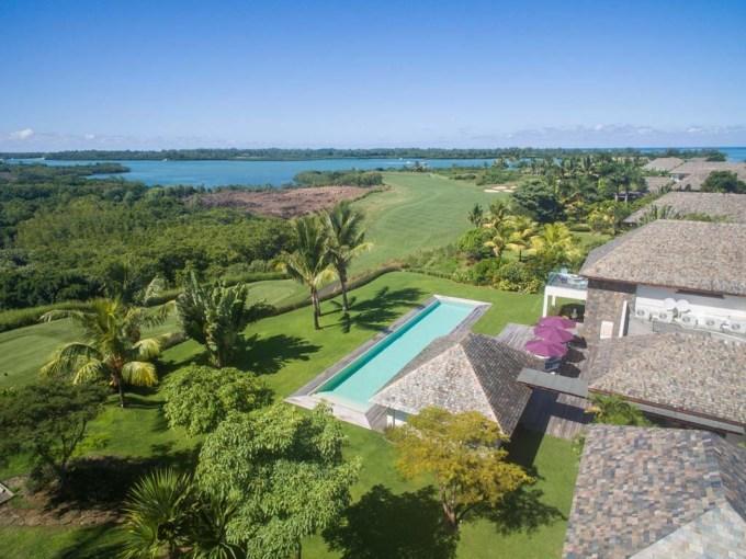 île-maurice Maison contemporaine bâtie sur un terrain en toute propriété