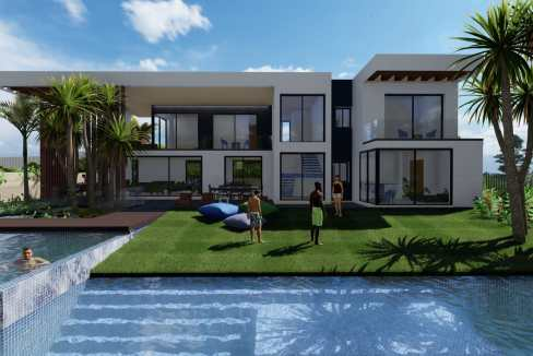 Villas au style architectural contemporain4