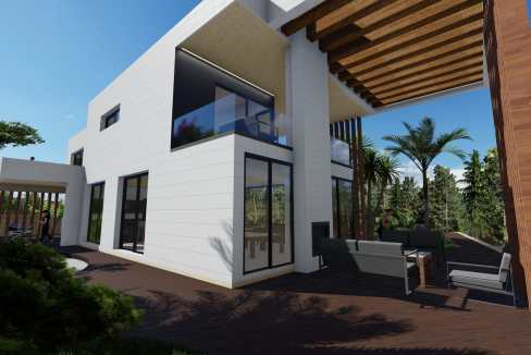 Villas au style architectural contemporain5