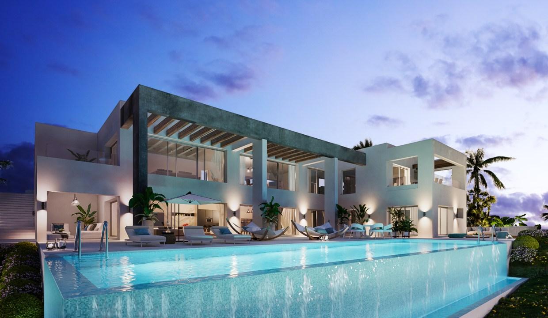 Villas au style architectural contemporain6
