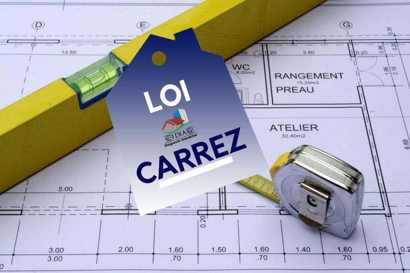 faire le diagnostic loi carrez