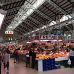 marché couvert de valencia