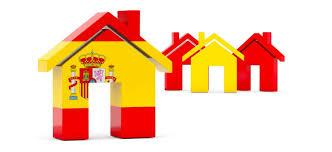 maison aux couleurs de l'espagne