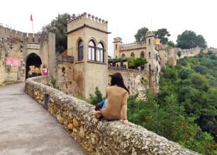 Le château de Xativa, ville des Borgia